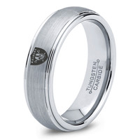Oakland Raiders Ring Mens Fanatic NFL Sports Football Boys Girls Womens NFL Jewelry Fathers Day Gift Tungsten Carbide 039