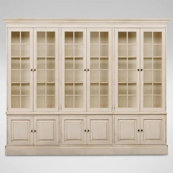 Villa Triple Library Bookcase