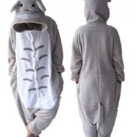 "My Neighbor Totoro Pajamas Halloween Costume,size Xl (70""-74"")"