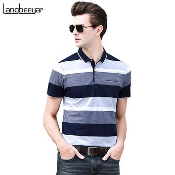 Polo Shirts Casual Mens Polo Summer Shirts With Short Sleeve Mens Clothing