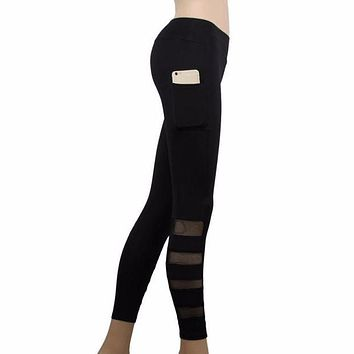 Women's High Waist Leggings With Pockets