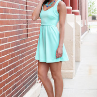 Keyhole Keepsake Dress