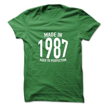Made in 1987 Aged to Perf