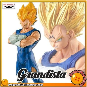 "SALE ""Dragon Ball Z"" Original Banpresto Resolution of Soldiers Grandista Vol.2 Collection Figure - Super Saiyan Majin Vegeta"