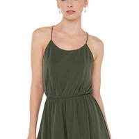 Valley Girl Olive Romper