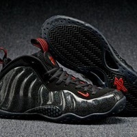 DCCK Air Foamposite One Black Sneaker Shoes 36-47