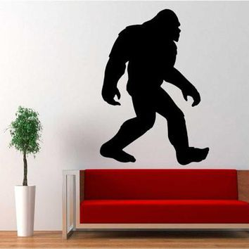 Yeti Sasquatch Bigfoot Vinyl Decal Sticker for Car Truck Jeep 4x4 Off Road