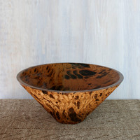 Mango Wood Salad Bowl and Matching Server Set