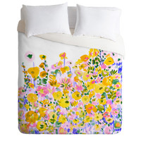 DENY Designs Home Accessories | Amy Sia Flower Fields Sunshine Duvet Cover