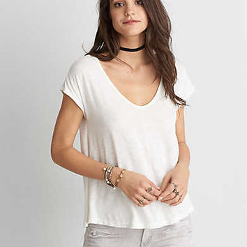AEO Voop Swing T-Shirt , Chalk