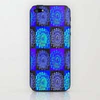 Many Blue Stars iPhone & iPod Skin by 2sweet4words