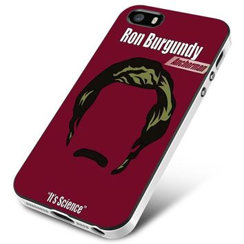 ANCHORMAN RON BURGUNDY iPhone 5 | 5S | 5SE Case Planetscase.com