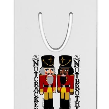 The Nutcracker and Nutbrotha Aluminum Paper Clip Bookmark by TooLoud