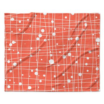 "Budi Kwan ""Woven Web"" Fleece Throw  Blanket"
