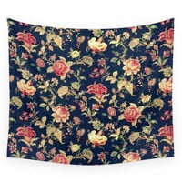 Society6 Vintage Floral Wall Tapestry