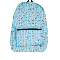Loungefly Disney Alice In Wonderland Stripe Toss Print Backpack
