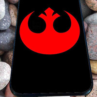Star Wars inspired Rebel Alliance Logo for iPhone 4/4s, iPhone 5/5S/5C/6, Samsung S3/S4/S5 Unique Case *76*