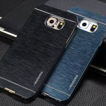 For Samsung Galaxy S6 case cover S6 edge also available Luxury brushed metal aluminium material 1pc retail selling
