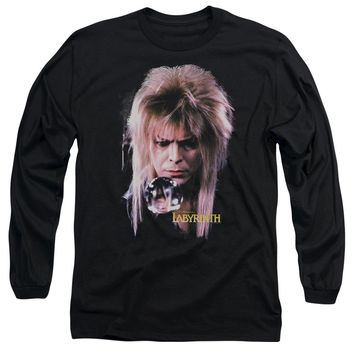 Labyrinth - Goblin King Long Sleeve Adult 18/1
