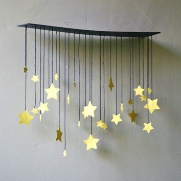 Raining Stars Mobile by shopprettythings on Etsy