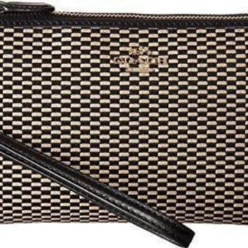 Coach Womens Exploded Rep Double Zip Wallet