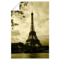 Tower at the riverside, Eiffel Tower, Champ De Mar Wall Decal