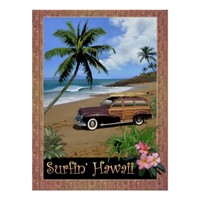 Surfin' Hawaii Posters