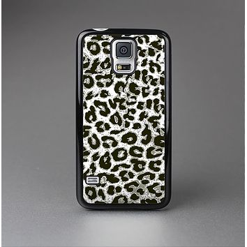 The Neutral Cheetah Print Vector V3 Skin-Sert Case for the Samsung Galaxy S5