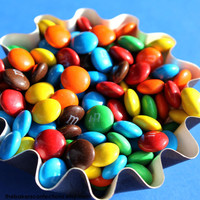 M&M's Candy Sprinkles for Cupcakes Cookies by thebakersconfections