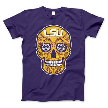 Tigers Skull Limited Edition Print T-Shirt & Apparel