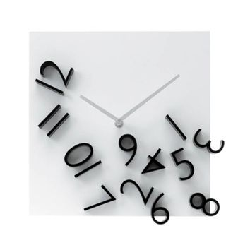 KARLSSON Falling Numbers Wall Clock