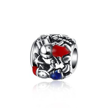 Sterling Silver Mystery Gift Box Charm