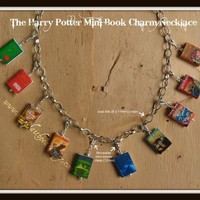 Harry Potter Book Necklace & Bracelet from by maryfaithpeace