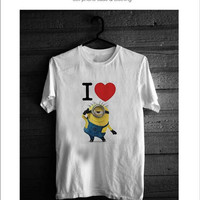 I Love Minion Shirt