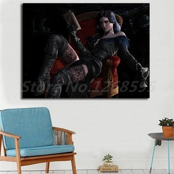 Yennefer Of Vengerberg The Witcher 3 Wild Hunt Wallpapers Art Canvas Poster Painting Wall Picture Print Home Bedroom Decoration