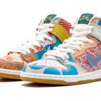 """Nike SB Zoom Dunk High PREM """"Thomas Campbell/What The Dunk 17"""" - 918321 381"""
