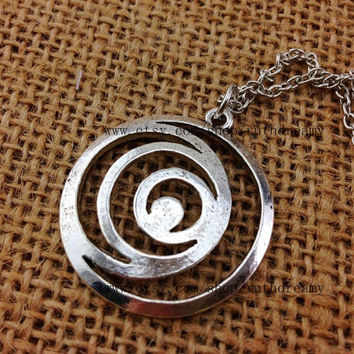 silver Lorien Legacies necklace I Am Number Four jewelry