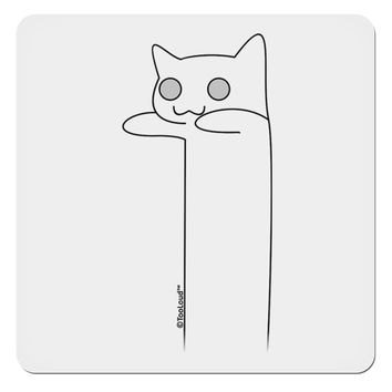 """Longcat - Internet Humor 4x4"""" Square Sticker by TooLoud"""