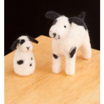 WoolPets Puppies Wool Needle Felting Craft Kit
