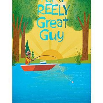 American Greetings Funny Great Guy Birthday Card with Foil - Funny Greeting Cards - Free Shipping