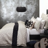 Zara Champagne Quilt Cover Set by Platinum Collection - Just Bedding