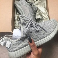 """""""Adidas"""" Women Yeezy Boost Sneakers Running Sports Shoes G"""