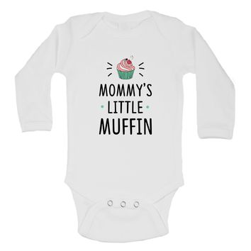 Mommys Little Muffin Funny Kids Onesuit