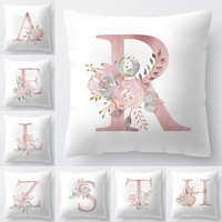 Letter Pillow Cover