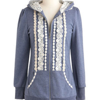 Ever So Soften Hoodie | Mod Retro Vintage Jackets | ModCloth.com