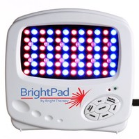 Bright Pad By BrightTherapy BT-L84 Acne Light BLUE RED IR Light Therapy Acne, Anti-Aging, Wrinkles, Pain, Wounds, Skin & hair growth