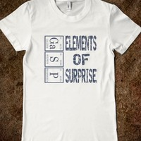 Skreened Gasp Elements Of Surprise Junior Tee