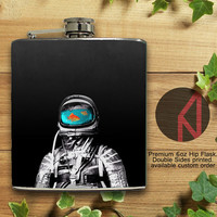 Astronaut 6oz Hip Flask