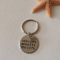 Boogity boogity boogity keyring, CLOSEOUT, lets go racing, i love nascar racing, companygifts for nascar fans, keyring, gifts for him or her