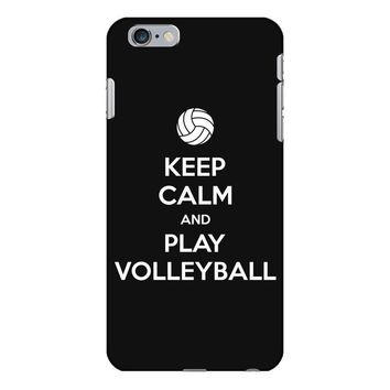 Keep Calm and Play Volleyball iPhone 6/6s Plus Case